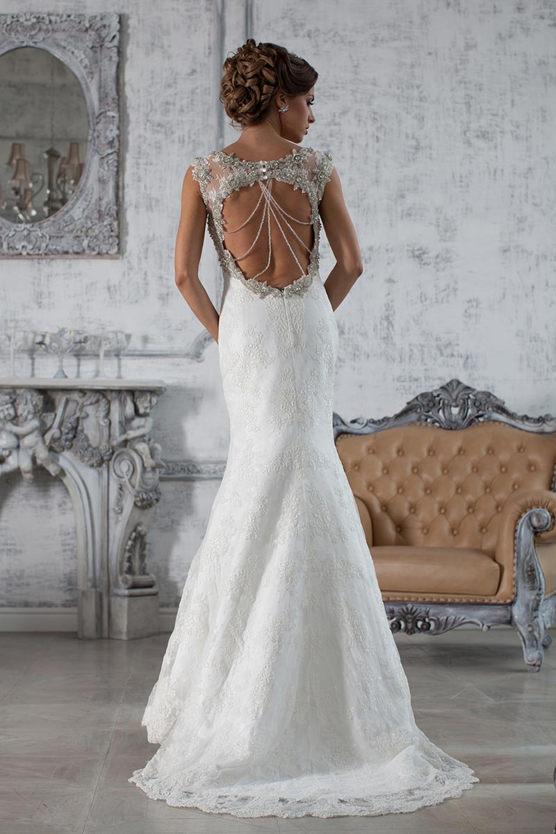 Beaded Fit Gown